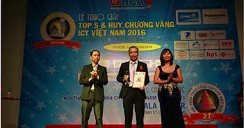 Liên tục tăng trưởng, CMC nhận giải Top 5 và HCV  ICT Việt Nam 2016