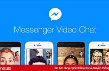 Facebook vừa bổ sung nhiều hiệu ứng hài hước trong Video Chat