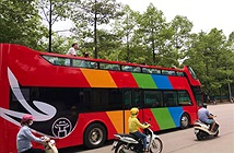 Hà Nội chạy thử nghiệm xe buýt 2 tầng mui trần