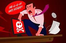 Đừng mơ chuộc dữ liệu khi 'dính' biến thể Petya