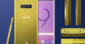Galaxy Note 9 lộ diện với màu vàng rực độc đáo