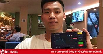 Văn Thanh U23 Việt Nam, Khá Bảnh quảng cáo cho cờ bạc Binomo