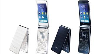 Samsung Galaxy Folder thế hệ 2: nắp gập, Android, giá 255 USD, mới chỉ bán tại Hàn Quốc