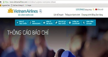 Bộ TT&TT, Bộ Công an, Viettel, FPT đang hỗ trợ Vietnam Airlines khắc phục sự cố