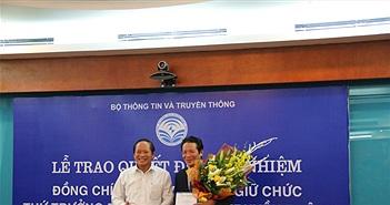 Công bố quyết định bổ nhiệm Thứ trưởng Bộ TT&TT Hoàng Vĩnh Bảo