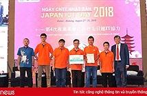 Sinh viên Đại học FPT giành giải Nhất cuộc thi lập trình Hackathon Vietnam 2018 về Smart City