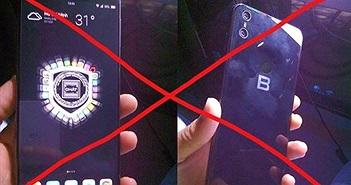 Hình ảnh Bphone 3 hiện nay đều không chính xác, ngày ra mắt sắp được công bố