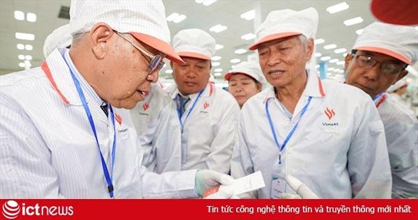 """Chủ tịch Quốc hội vùng Yangon - Myanmar U Tin Maung Tun: """"Nhà máy VinSmart dây chuyền hiện đại, rất đáng tự hào"""""""