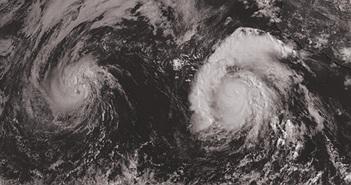 Khi 2 cơn bão va vào nhau và kết quả...