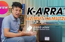"""Trải nghiệm dàn loa Ý K-array Azimut-KAMUT2L1, nhỏ đến mức """"tàng hình"""""""