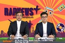 Bản tin RapNewsPlus đoạt giải thưởng quốc tế báo chí sáng tạo
