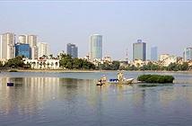Chế phẩm của Đức giải cứu hồ bẩn ở Hà Nội