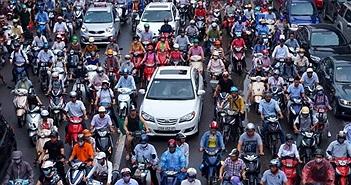 Hà Nội tính chuyện thu phí phương tiện vào thành phố để chống ùn tắc