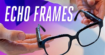 Amazon giới thiệu kính mắt thông minh Echo Frames giá 180 USD