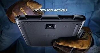 Galaxy Tab Active 3 ra mắt: độ bền chuẩn quân đội, chống bụi, nước, bút S-Pen