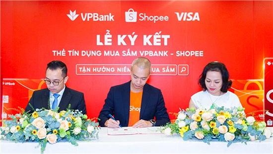 Shopee hợp tác với VPBank và Visa ra mắt 'Thẻ tín dụng VPBank Shopee'