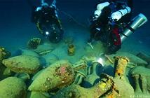 Phục hồi đồ vật từ tàu đắm thời xa xưa