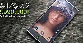 Alcatel Flash 2 - Smartphone đáng mua dưới giá 3 triệu đồng