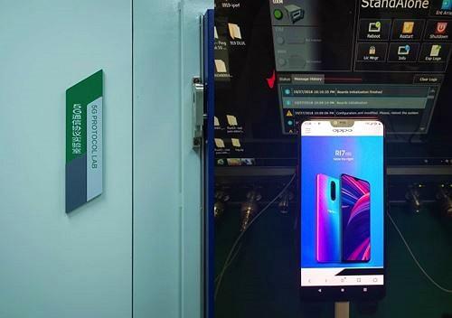 Phiên bản tuỳ chỉnh Oppo R15 lần đầu tiên đạt chuẩn mạng 5G
