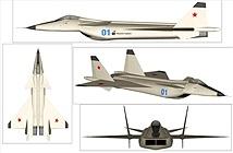 Lý do MiG 1.44 - sát thủ diệt tiêm kích F-22 Raptor chết yểu