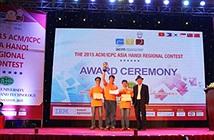 Lần đầu tiên Việt Nam Vô địch tại một điểm thi lập trinh sinh viên ACM/ICPC châu Á