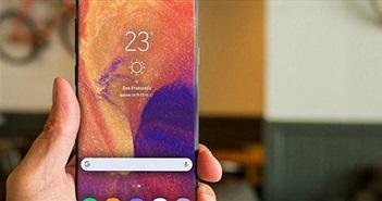 Galaxy S10 với thiết kế lỗ khuyên dần hiện hình qua Galaxy A8s