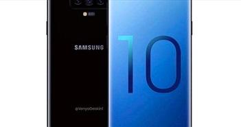 Lại thêm thông tin gây sốc về Galaxy S10