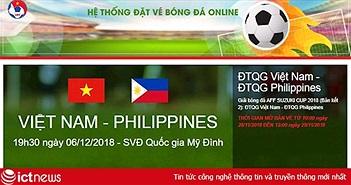Gần 7000 vé xem trận Việt Nam-Philippines được chuyển phát qua bưu điện