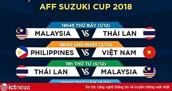 K+ bình luận trực tiếp 6 trận đấu từ vòng bán kết AFF Suzuki Cup 2018