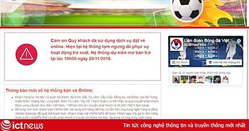 VFF: 10h hôm nay (29/11), tiếp tục bán vé online trận Việt Nam – Philippines