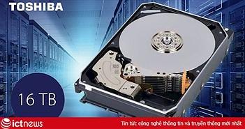 Toshiba ra mắt thị trường Việt Nam hàng loạt ổ cứng dung lượng đến 16TB