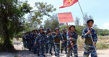 Chiến sĩ Vùng 4 Hải quân Việt Nam tiến bộ vượt bậc