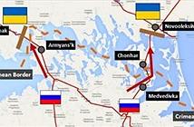 Quân đội Ukraine đã làm chủ hoàn toàn bán đảo nối Crimea