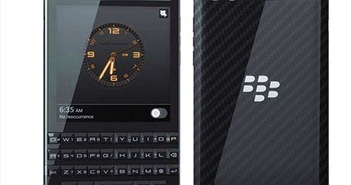 Smartphone BlackBerry Porsche Design P'9983 giá xấp xỉ 50 triệu đồng