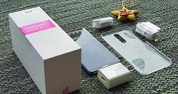 Khui hộp phiên bản xanh thời thượng của Huawei nova 2i