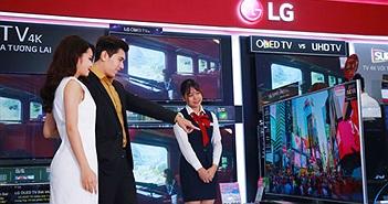LG đưa ra thị trường 30 mẫu TV 4K đáp ứng nhu cầu mua sắp dịp tết