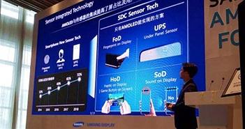 Samsung sắp ra mắt smartphone đầu tiên có cảm biến vân tay dưới màn hình