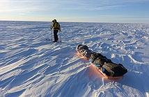 Lần đầu tiên trong lịch sử có 1 người vượt qua Nam Cực trong 54 ngày