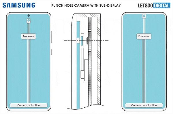 Samsung gia nhập cuộc đua smartphone có camera ẩn dưới màn hình siêu độc đáo