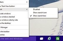 Ẩn hộp tìm kiếm Cortana trong Windows 10