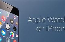 Đưa giao diện Apple Watch lên iPhone