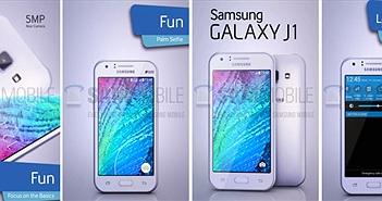 Samsung Galaxy J1 lần đầu lộ diện