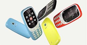 Nokia 3310 4G chính thức ra mắt: hỗ trợ 4G, Wi-Fi và Wi-Fi Hotspot