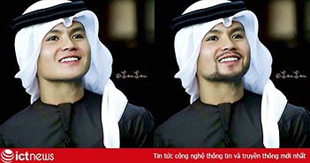 Dàn tuyển thủ Việt Nam được fan chế thành trai đẹp xứ Ả Rập