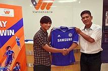 Vietnamobile tặng áo Chelsea cho khách hàng dùng SIM Chelsea FC có cước cao