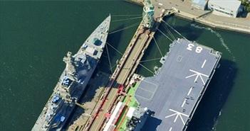 """Tàu ngầm Trung Quốc có thể thành """"mồi ngon"""" cho Izumo Nhật Bản"""
