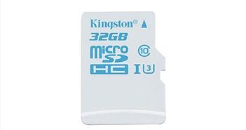 Kingston Digital ra mắt microSD mới cho máy quay hành trình