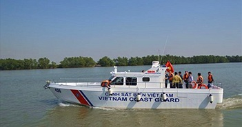 Theo dõi tàu tuần tra MS 50 của CSB Việt Nam tác chiến