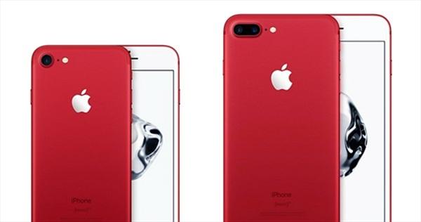 Bán iPhone 7 đỏ khuyến mãi cả… bao cao su