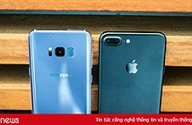 So sánh Samsung Galaxy S8 và iPhone 7: Nên mua sản phẩm nào?